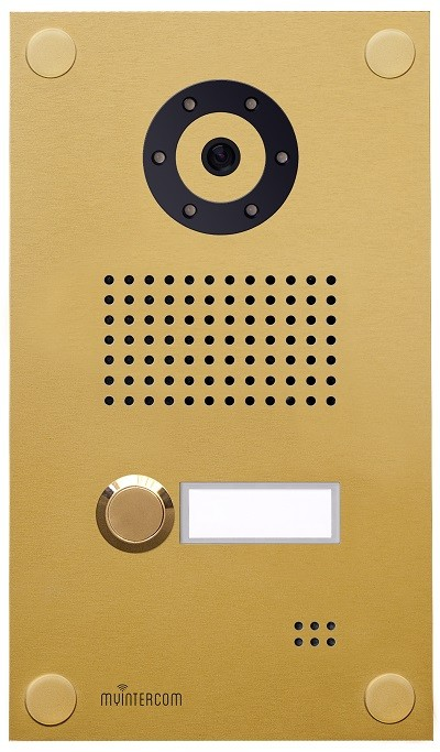 IP-Video Türstation myintercom One, Gold
