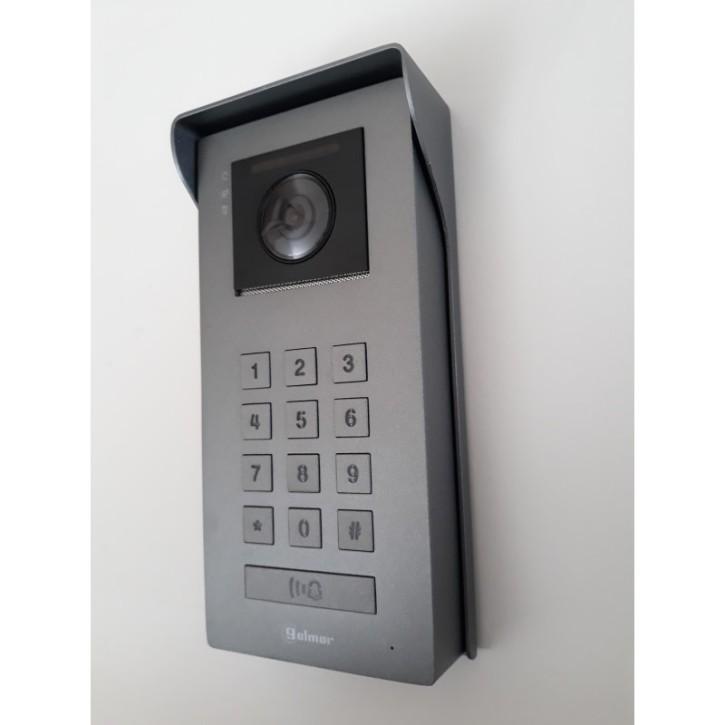 SOUL/ACCESS - Farbvideopanel mit einer Klingeltaste + Codetastatur