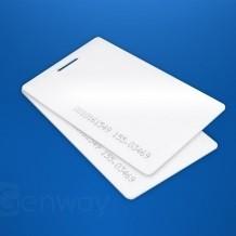 Transponder Scheckkarte weiß / per Stk
