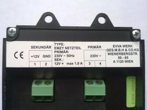 EVVA Netzteil für EMZY, 12VDC / 1A